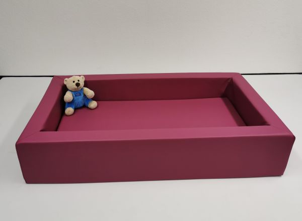 ab KW 04/2021 - Baby-Wanne mit Matratze Farbe cyclame, in org. heller !