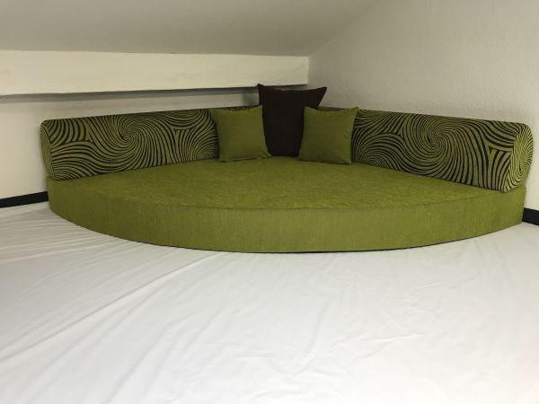 Kuschelecke incl. Kissen - grün