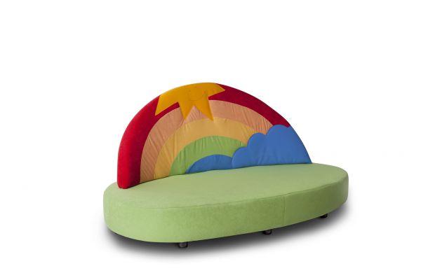 Regenbogensofa